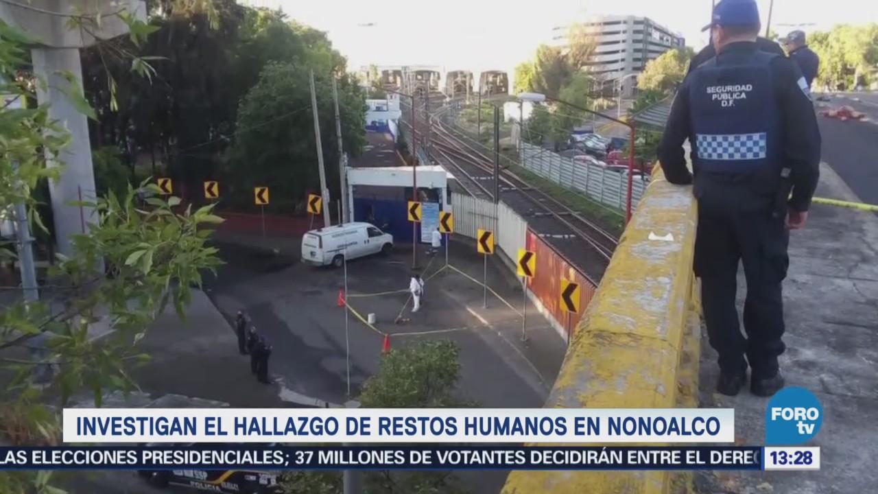 Investigan el hallazgo de restos humanos en Tlatelolco