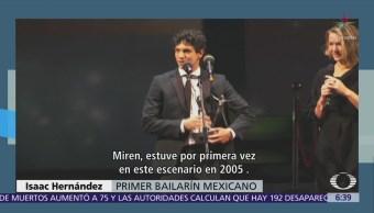 Isaac Hernández recibe Premio Benois de la Danse 2018