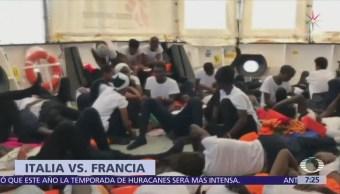 Italia y Francia se confrontan por trato a migrantes