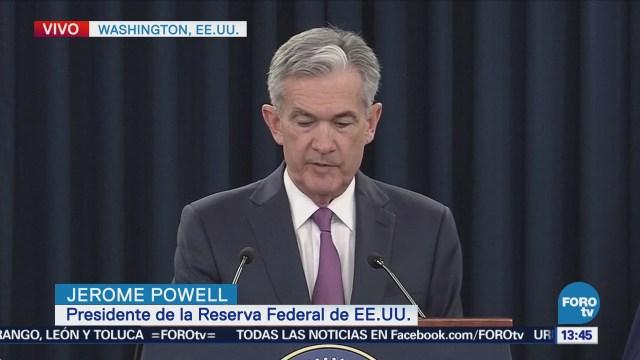 Jerome Powell de la Fed explica alza de