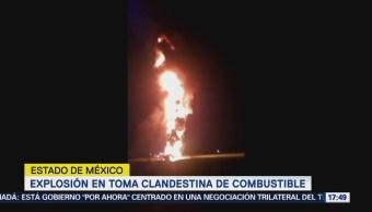 Explosión Toma Clandestina Combustible Edomex