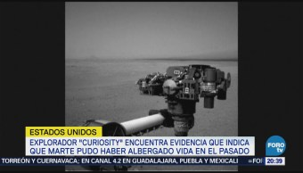 Explorador Curiosity Nueva Evidencia Vida Marte NASA