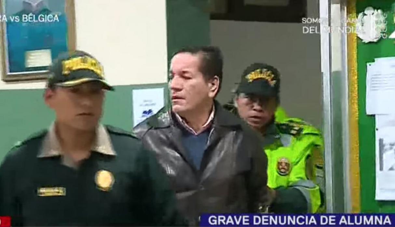 Fiscalía solicita 9 meses de prisión preventiva contra docente acusado de acoso