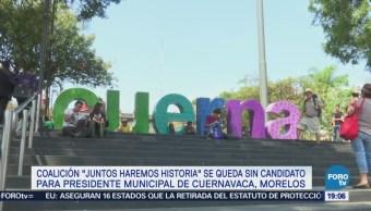 Juntos Haremos Historia Sin Candidato Cuernavaca