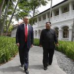 Trump celebra progreso en cumbre con Kim Jong-un