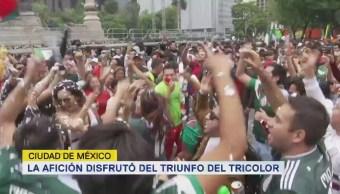 Afición Disfrutó Triunfo Tricolor Selección Cdmx
