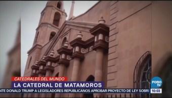 La catedral de Matamoros se caracteriza por su estilo neoclásico