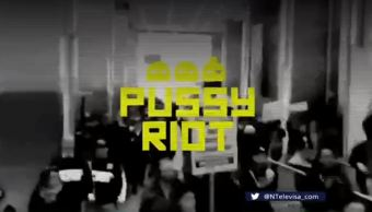 Fama Mundial Pussy Riot Rusia Moscú