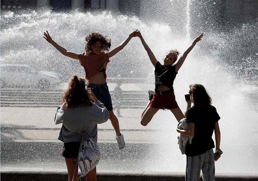Altas temperaturas disparan ventas en el país