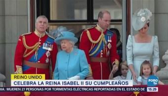 La reina Isabel II celebra su cumpleaños