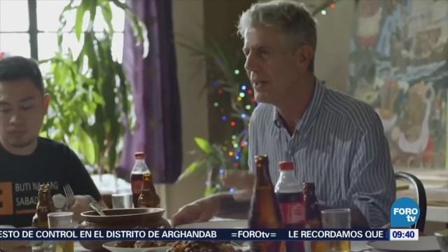 Relación Chef Anthony Bourdain México Francia