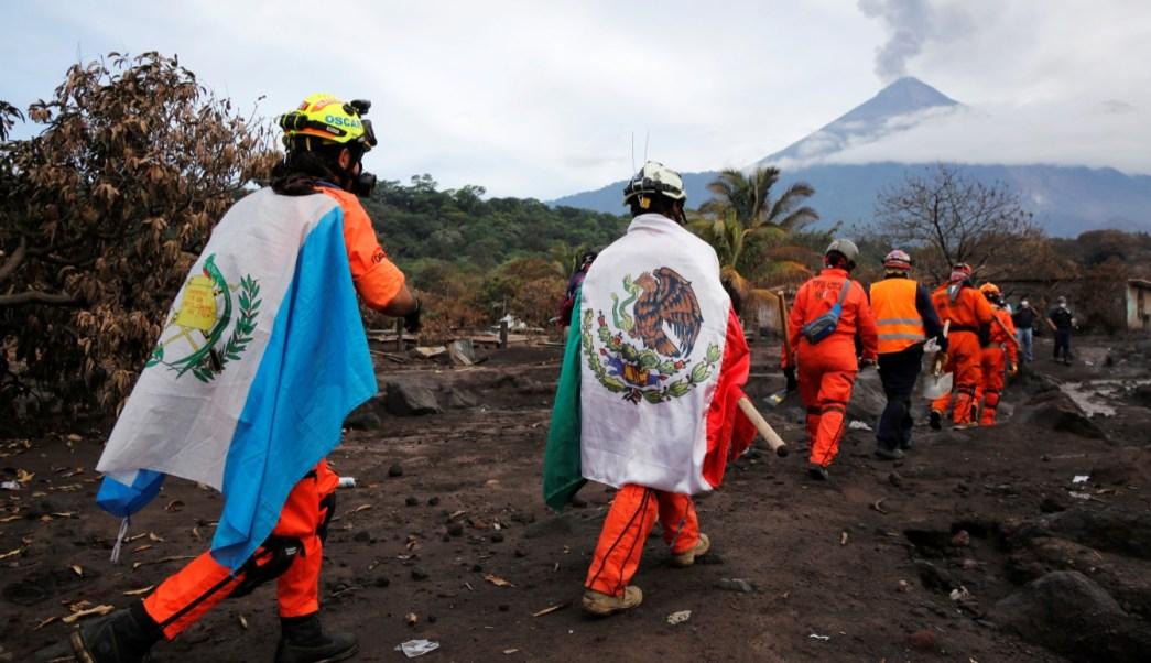 Rescatistas reanudan búsqueda de víctimas en Guatemala