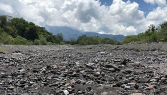Caen los primeros lahares zona volcánica de Colima y Jalisco