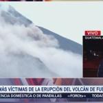 Lahares provocan nuevas evacuaciones en Guatemala