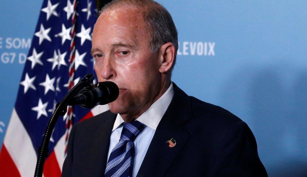 Larry Kudlow asesor económico Trump sufre ataque cardíaco