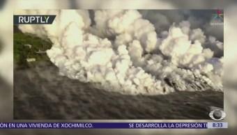 Las nubes tóxicas del volcán Kilauea