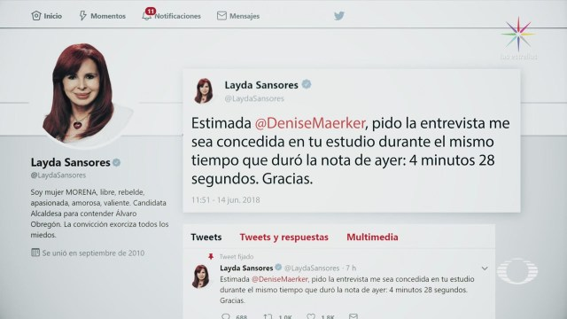 Layda Sansores Responde Gastos Cargo Senado