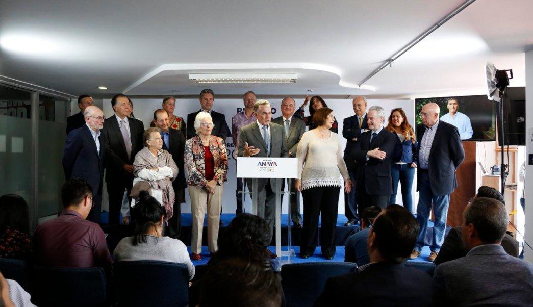 Liderazgos del PAN llaman a votar por Ricardo Anaya