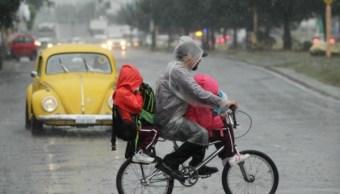 Activan Alerta Amarilla en 13 delegaciones por lluvias