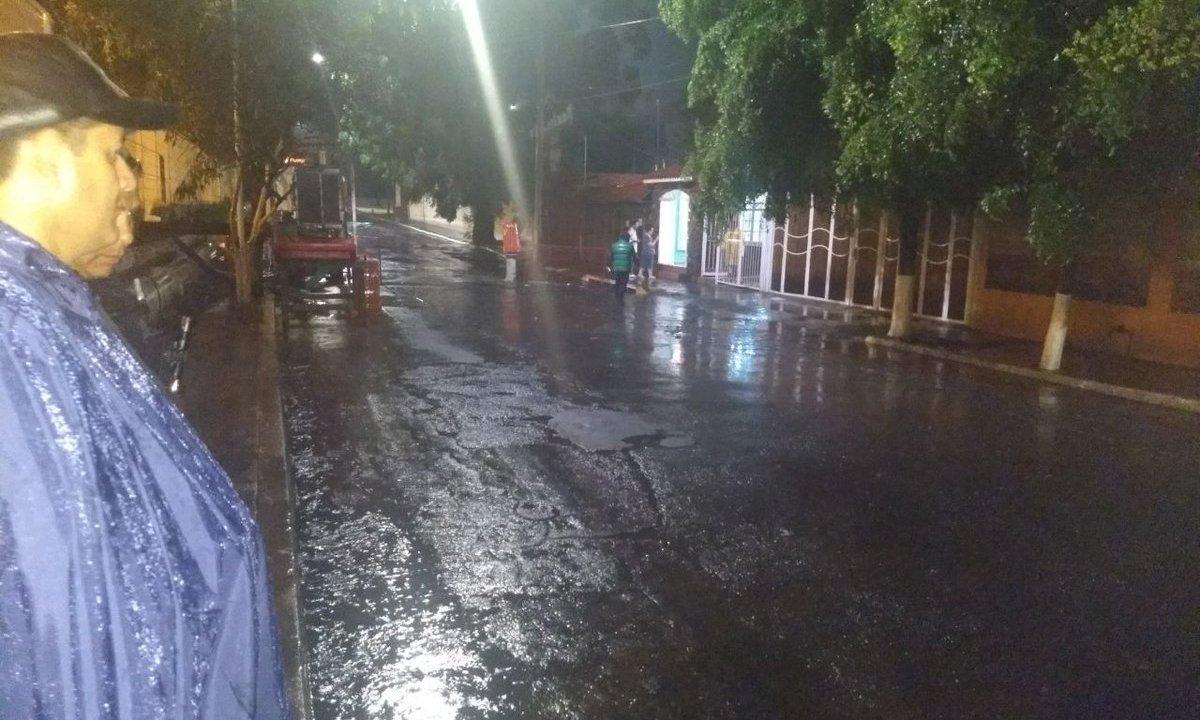 Lluvia provoca afectaciones en la zona metropolitana de Guadalajara
