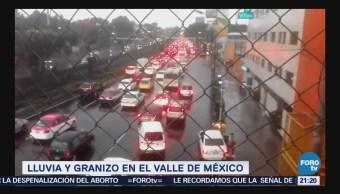 Lluvia granizo Valle De México Clima