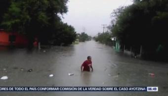 Lluvias Dejan Afectadas 60 Colonias Reynosa, Tamaulipas