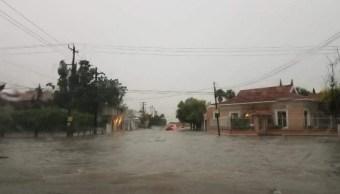 Lluvia inunda al menos 22 colonias en Reynosa, Tamaulipas