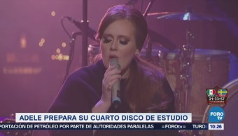 #LoEspectaculardeME: Adele comienza a producir su nuevo disco