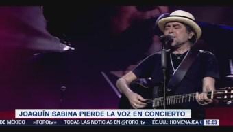 #LoEspectaculardeME: Joaquín Sabina suspende concierto en Madrid