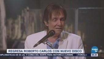 #LoEspectaculardeME: Roberto Carlos vuelve a la escena musical con 'Regreso'