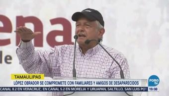López Obrador Promete Delinear Plan Paz