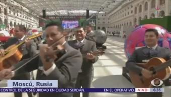 Mariachis Animar Selección Mexicana Rusia