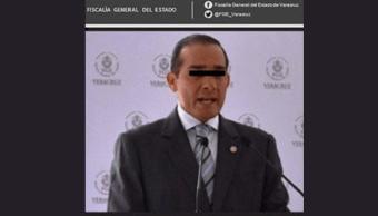 Vinculan a proceso al exfiscal de Veracruz por desaparición forzada