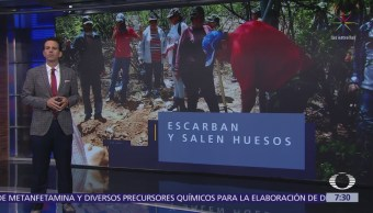 Madres de desaparecidos en México son quienes encuentran los restos