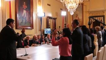 Maduro cambia gabinete nombra vicepresidenta Delcy Rodríguez