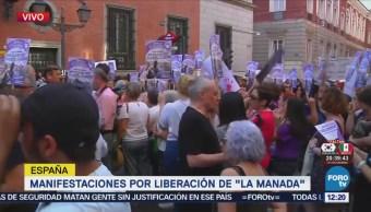Manifestaciones Madrid Liberación La Manada