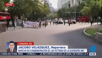 Marchan Reforma Recordar Víctimas Guardería Abc