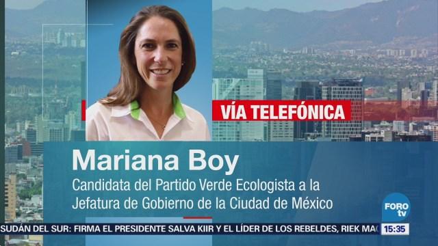 Mariana Boy Descarta Declinar Otro Candidato