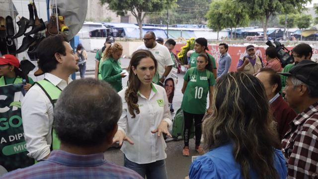 Mariana Boy presenta proyecto para mejorar mercados públicos