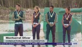 Marinos participan en 'Reto 4 Elementos'