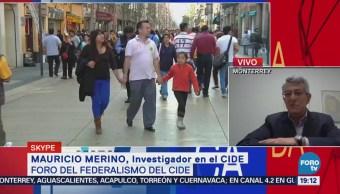 CIDE Analiza Federalismo Foro Expertos Mauricio Merino