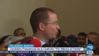 Ricardo Anaya Promete Atención Transporte Público