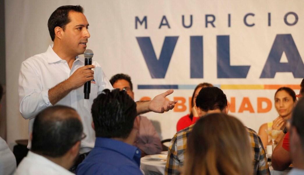 Mauricio Vila Dosal, candidato del PAN al gobierno de Yucatán. (Twitter Mauricio Vila)