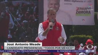Meade asegura que el PRI es un partido transformado