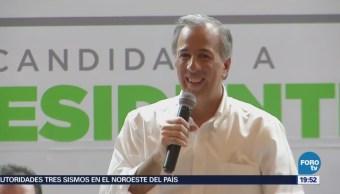 José Antonio Meade Confía Ganar Elección Presidencial