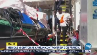 Medidas Migratorias Causan Controversia Francia Crisis