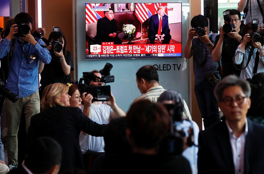 El mundo reacciona a la cumbre histórica entre Trump y Kim