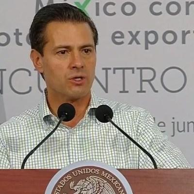 México, potencia exportadora de alimentos: Peña Nieto
