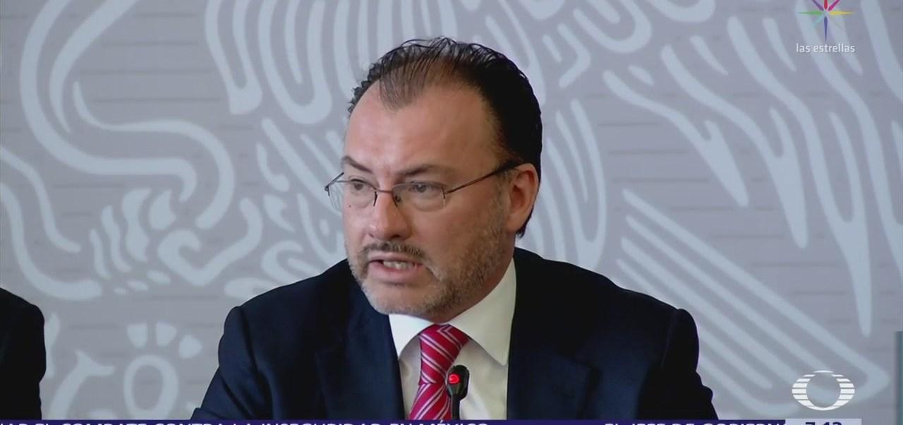 México seguirá trabajando para proteger a niños migrantes, dice Videgaray