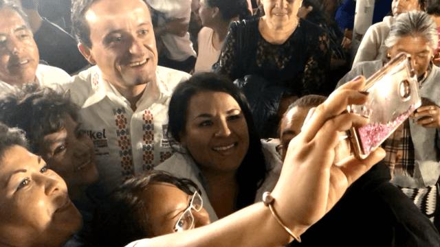 Mikel Arriola se reúne con grupos vulnerables de Milpa Alta